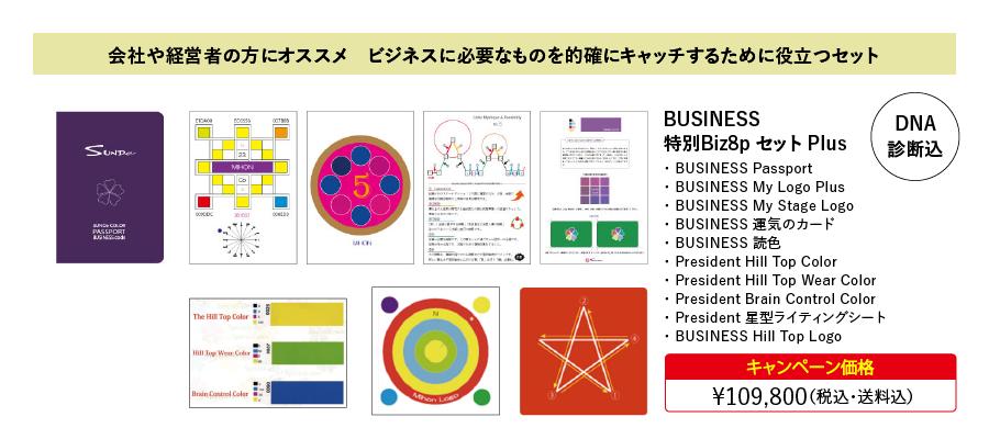 BUSINESS 特別Biz8pセット Plus